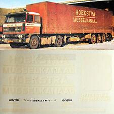 DAF Hoekstra Holland (NL) 1:87 Truck Decal LKW Abziehbild