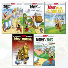 Asterix and the Actress Series 7(31-35) Obelix's Birthday 5 Books Collection Set
