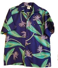 New listing Hilo Hattie Vintage Hawaiian Button Shirt Men's Large - Made in Hawaii Usa