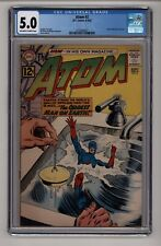"""DC's The Atom #2 Classic Silver Age """"mini' Super Hero CGC 5.0 OW-W"""