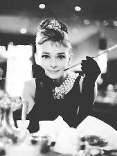 Audrey Hepburn Breakfast at Tiffany's Movie Poster  18X24 Vintage ** SALE**
