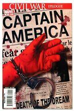 1)CAPTAIN AMERICA v5 #25(4/07)DEATH STEVE ROGERS(EPTING CVR)AVENGERS(CGC IT)9.6!