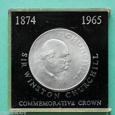 1965 WINSTON CHURCHILL Commemorative Crown Tubé SNo40071