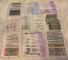 Banknote Wholesale Lot. 100 Pcs. Vintage Collection. German Banknotes.