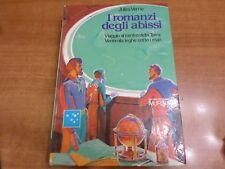 Jules Verne I ROMANZI DEGLI ABISSI Edizione Integrale Mursia 1985