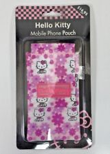 HELLO KITTY MOBILE PHONE POUCH . APPLE IPHONE 3  4 VARIOUS APPLICATIONS