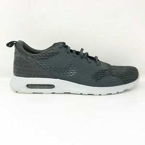 Nike Mens Air Max Tavas SE 718895-010 Black Running Shoes Lace Up Size 12