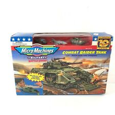 RARE VINTAGE 1996 MICRO MACHINES BATTLE ZONES COMBAT RAIDER TANK GALOOB NEW