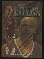 1997-98 Topps Finest Basketball #154 Michael Jordan Gold Rare SP with Coating