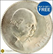 1965 CROWN UNC - Winston Churchill Crown Coin