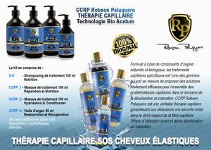CCRP Robson Peluquero  THÉRAPIE CAPILLAIRE SOS CHEVEUX ÉLASTIQUES kit 100 ml x 3