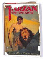 Tarzan the Untamed_Edgar Rice Burroughs_1920_Hardcover w/ DJ_Grosset & Dunlap