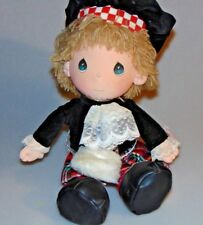Precious Moments Doll 1985 World's Children Eric-Scotland Applause