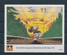 LM14375 Guyana Donald Duck disney good sheet MNH