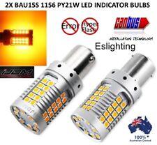 2X BAU15S 1156 PY21W 3030  LED TURN SIGNAL INDICATOR ERROR FREE BULBS GLOBE