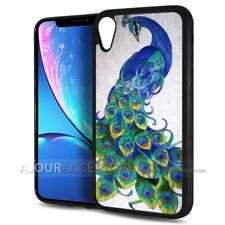 ( For iPhone XR ) Back Case Cover AJH11524 Peacock