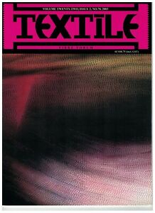 BULK 9 x Textile Fibre Forum magazine: issue #70, 71, 72, 90, 91, 92, 94, 95, 96
