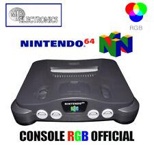 Modified Console Modifiée Nintendo 64 / N64  RGB Officiel  NUS-001 FRA (CMS SMD)