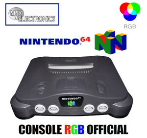 Modified Console Modified Nintendo 64/N64 RGB Official NUS-001 Fra (CMS SMD)