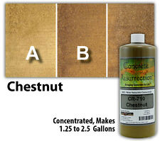 Professional Easy to Apply Water Based Concrete Stain - Chestnut
