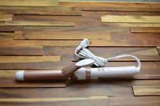 """CONAIR CD701GN Double Ceramic 1"""" Curling Iron 400 Degrees F White Rose Gold"""