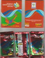Panini WC WM Germany 2006 – MINISTICKER 7 x Tüte packet bustina + POCKET ALBUM