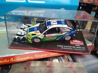 IXO 1/43 FORD FOCUS RS WRC 06 #3 GRONHOLM MONTE CARLO 2006 NEUF EN BOITE