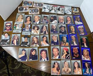 2015 Panini Americana 45 Cards Lot Bela Lugosi, Hip Hop, Movie Stars, Comedians