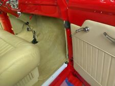 53-55 ford pickup interior headliner kit&visor covers dr&kick panels, carpet kit
