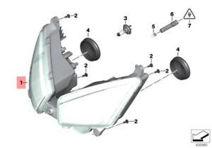 Genuine BMW K18 Headlight OEM 63128557215