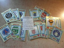 original FOOTBALL STICKERS PANINI FOOT 83 1983 FRANCE ECUSSONS  Voir liste