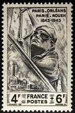 FRANCE CHEMIN DE FER CHEMINOT   TIMBRE NEUF N° 618  **  MNH 1944  B4