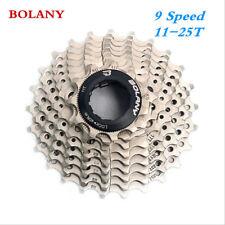 BOLANY MTB 9 Speed Cassette 11-25T Road Bike Flywheel Cogs Ultralight Bike Parts