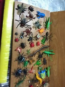Plastic Toys Animal Assorted Plastic Insects Bugs Figures Lot