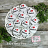 "12  I (Heart) BUNCO Pins * 1 1/4"" PIN BACK Buttons Party Favor Gifts Goodie Bags"
