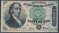 Fr1379 50¢ 4Th Issue Fractional Currency - Au - Bt8707