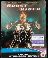 Ghost Rider Steelbook blu-ray Édition UK NEUF sous blister RARE Marvel