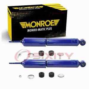 For Mitsubishi Montero 1992-2000 Pair Set of 2 Rear Shock Absorbers Monroe 32274