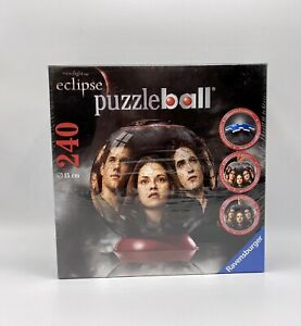 Ravensburger 3D Puzzle Ball Twilight Saga Eclipse 240 Pieces 6 Inch New Sealed