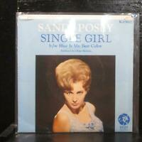 "Sandy Posey–Single Girl / Blue Is My Best Color Mint- 7"" Vinyl 45 MGM K13612"
