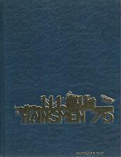 ☆* USS WHITE PLAINS AFS-4 WESTPAC DEPLOYMENT CRUISE BOOK YEAR LOG 1975 - NAVY *☆