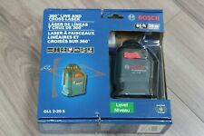 Bosch GLL 2-20 S 360° Line and Cross laser