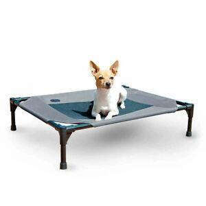 """K&H Pet Products Original Pet Cot Medium Gray 25"""" x 32"""" x 7"""""""
