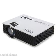 UNIC UC40+ LCD TFT 800x480 Pixels Simplified Micro Projector lamp LED 800 lumens