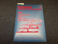 1993 Nissan Pathfinder & Truck Electrical Wiring Diagram Guide Manual E XE SE