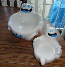 Hallmark Set of 2 Ceramic Ghosts Candy Dishes – Brand New