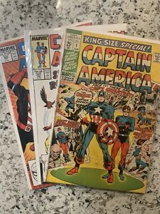 Captain America King Size Special #1, #337 & 350 lot of 3