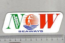 Aufkleber/Sticker MINOAN LINES Seaways Now