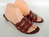 Cole Haan Resort Leather Slide Mule Sandals Women's Size 7.5 B