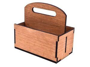 Hardwood Oak Veneer Table Caddy for Restaurants, Cafes, Bars and Hotels